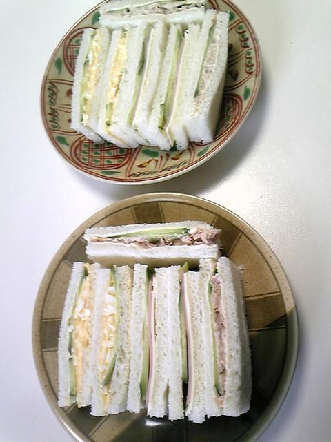 前日の昼食