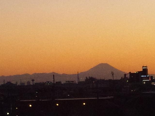 富士山の日(2月23日)の富士山