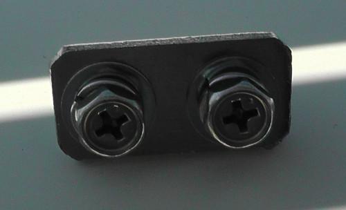 一条工務店のバルコニー手すりを固定するボルト