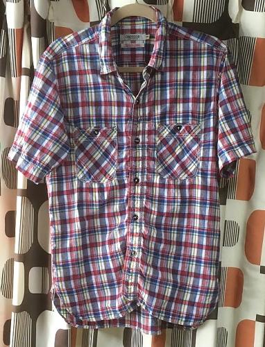 OMNIGOD 半袖ワークシャツ 56-016X  1.JPG