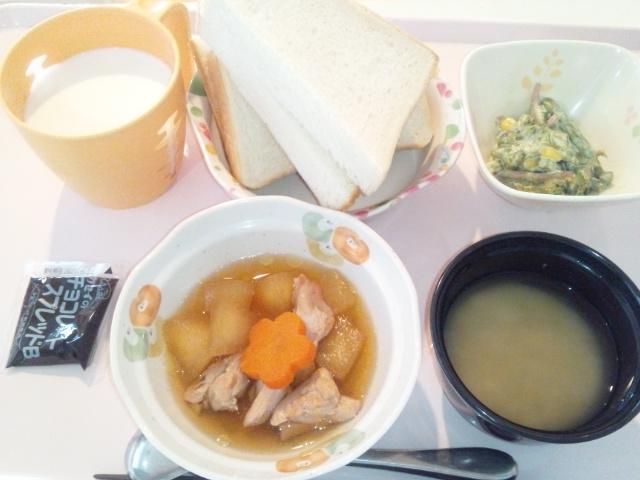 鶏肉と冬瓜の煮物
