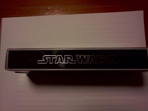 CROSS StarWarsペン箱側面