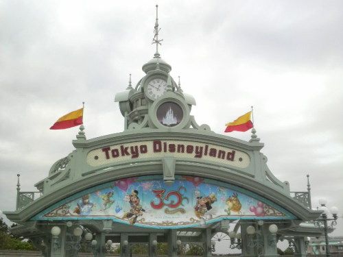 東京ディズニーランド(入口)