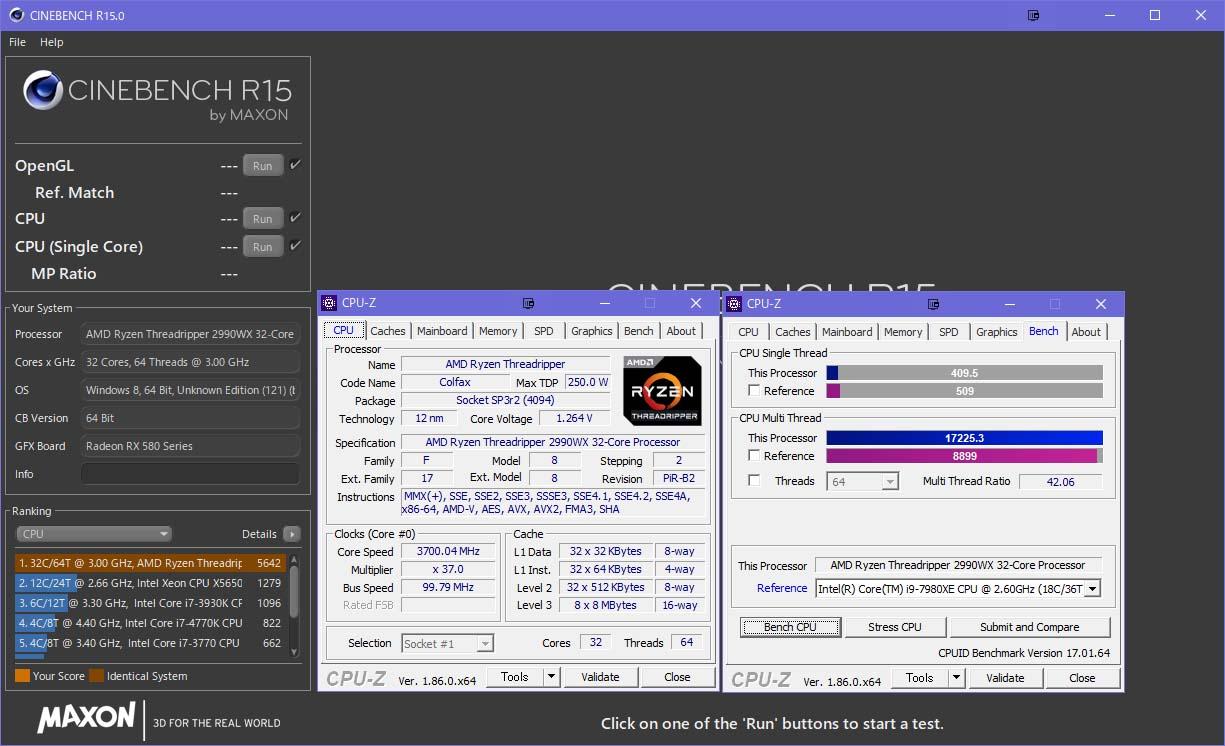 AMD Ryzen Threadripper 2990WX 簡単レビュ   神楽の適当gdgdブログ