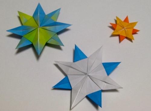 クリスマス 折り紙 雪の結晶 折り紙 簡単 子ども : plaza.rakuten.co.jp