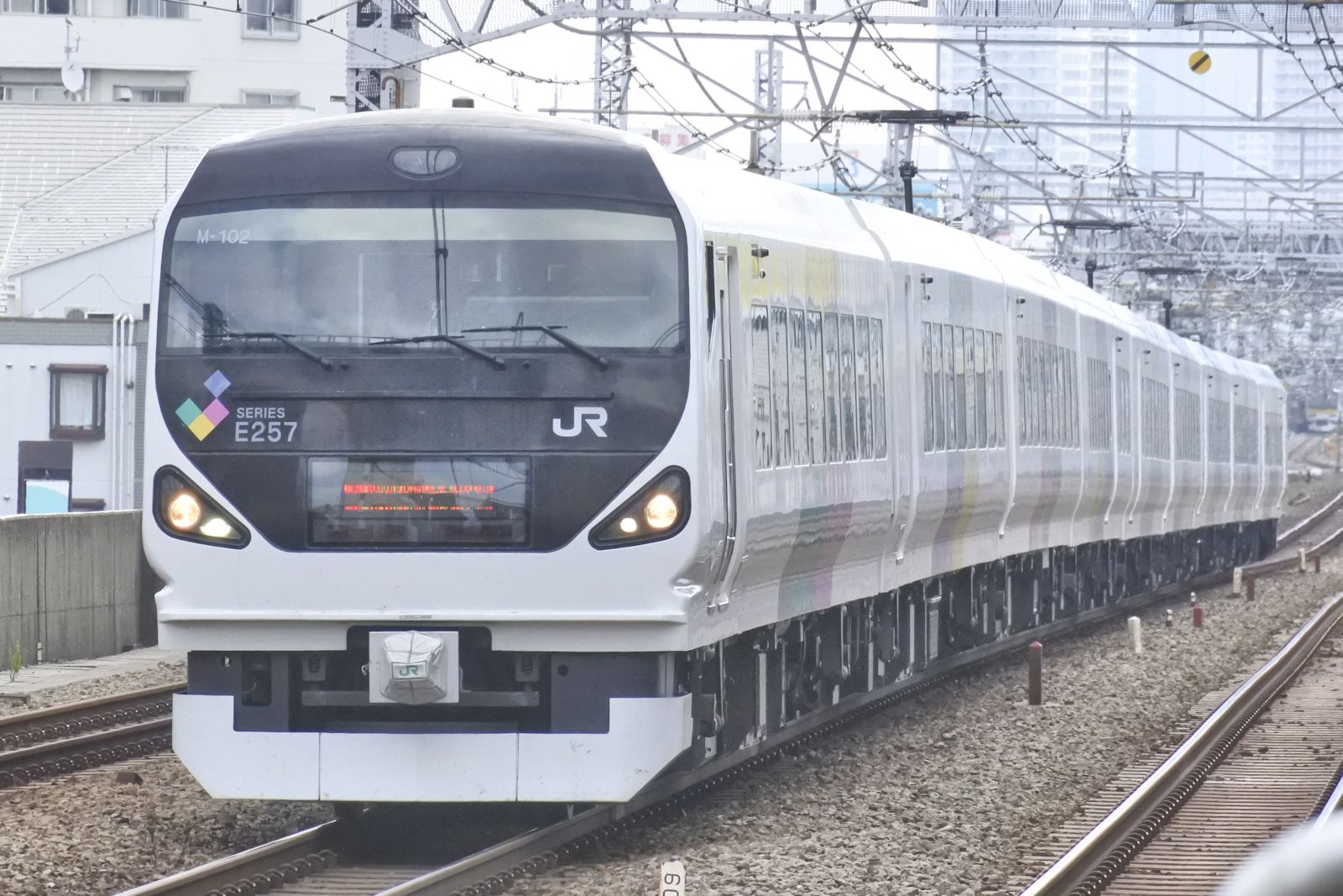 E257系モト車の臨時「あずさ」を撮る   花見友紀の「鉄道のある日常 ...