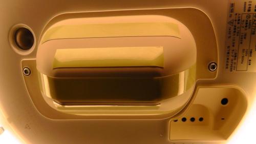 出っ張りに蓄光テープ