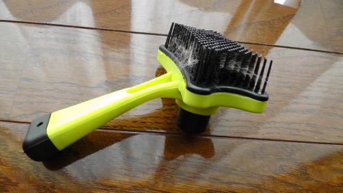 ワンプッシュ掃除ブラシ