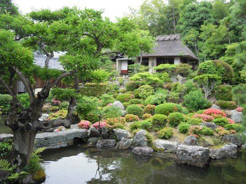 等持院・庭園.JPG