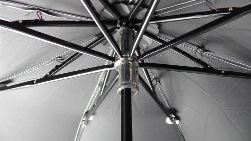 晴雨兼用シルバーコーティング折りたたみ傘