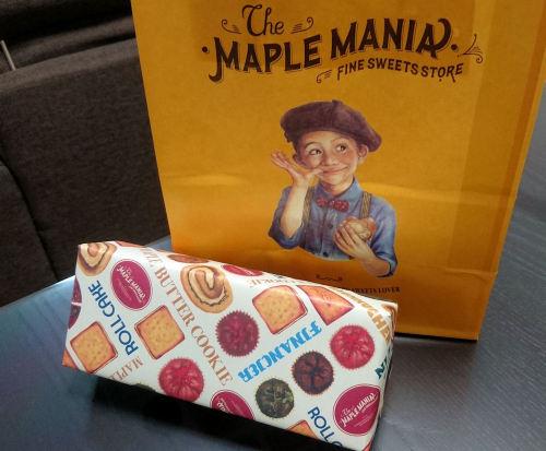ザ・メープルマニア メープルバタークッキー 東京駅 お土産
