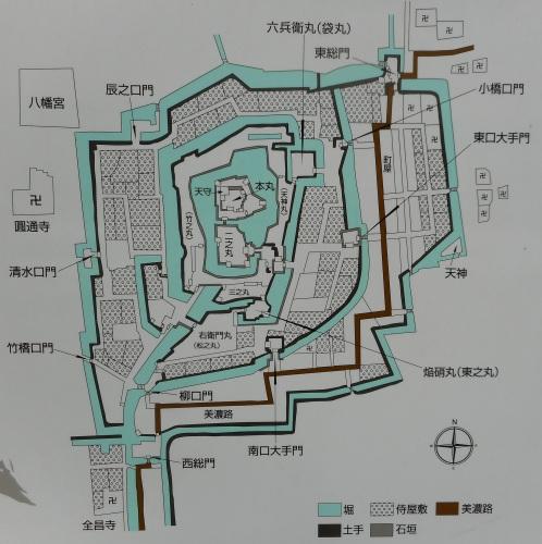 大垣城(岐阜・大垣市)
