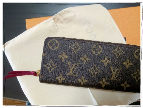 on sale 63569 ee5d0 ヴィトンのコンパクトな長財布、ポルトフォイル・クレマンス ...