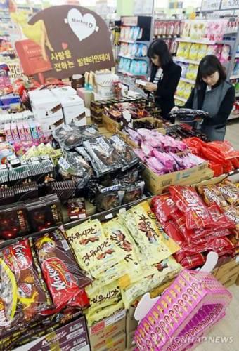 韓国 バレンタインデー