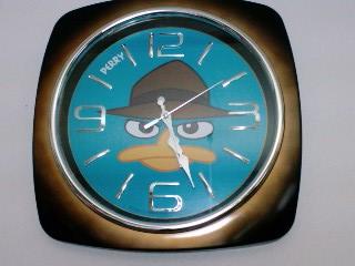 エージェントP 掛け時計.jpg