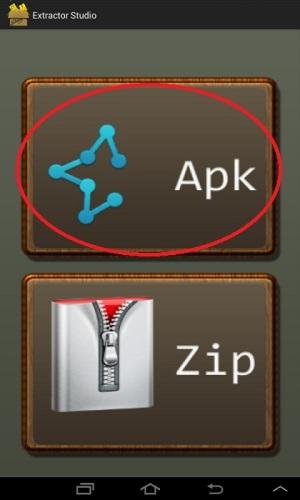 APKをタップ