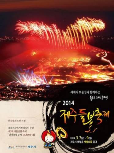 韓国旅行 済州野焼き祭り