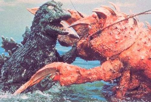 Godzilla vs. the Sea Monster(南海の大決闘) | メタボの気まぐれ ...