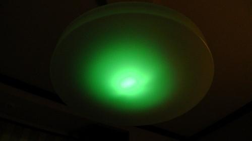 消灯後、停電時に光る