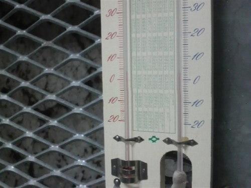 ゆきむろ(温度計)