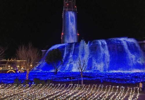 ハウステンボス・光の滝160307.jpg