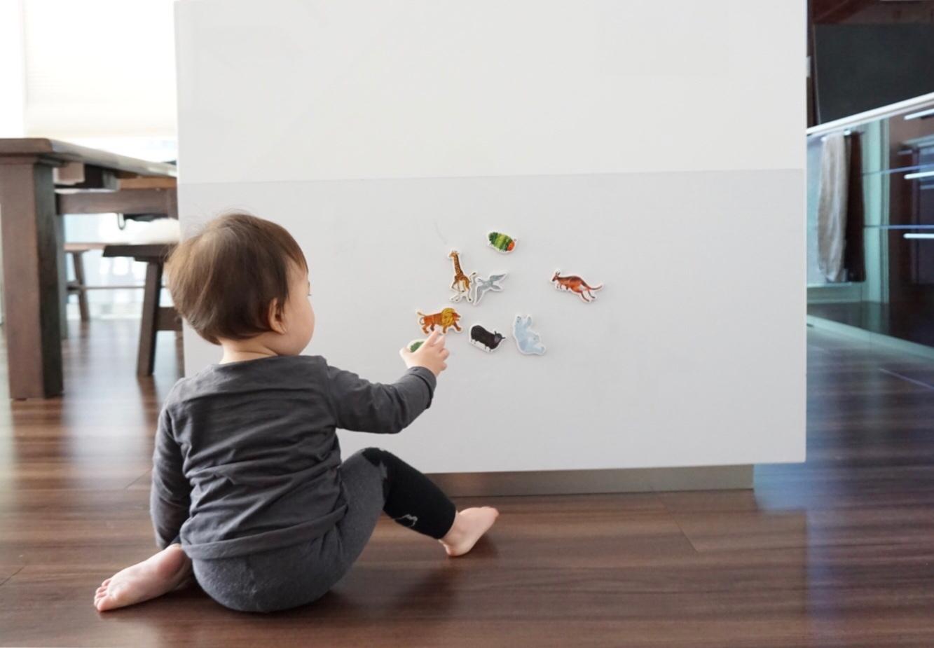 マグネットシート 磁石が壁につく壁紙 マグカベ シール付き 48cm
