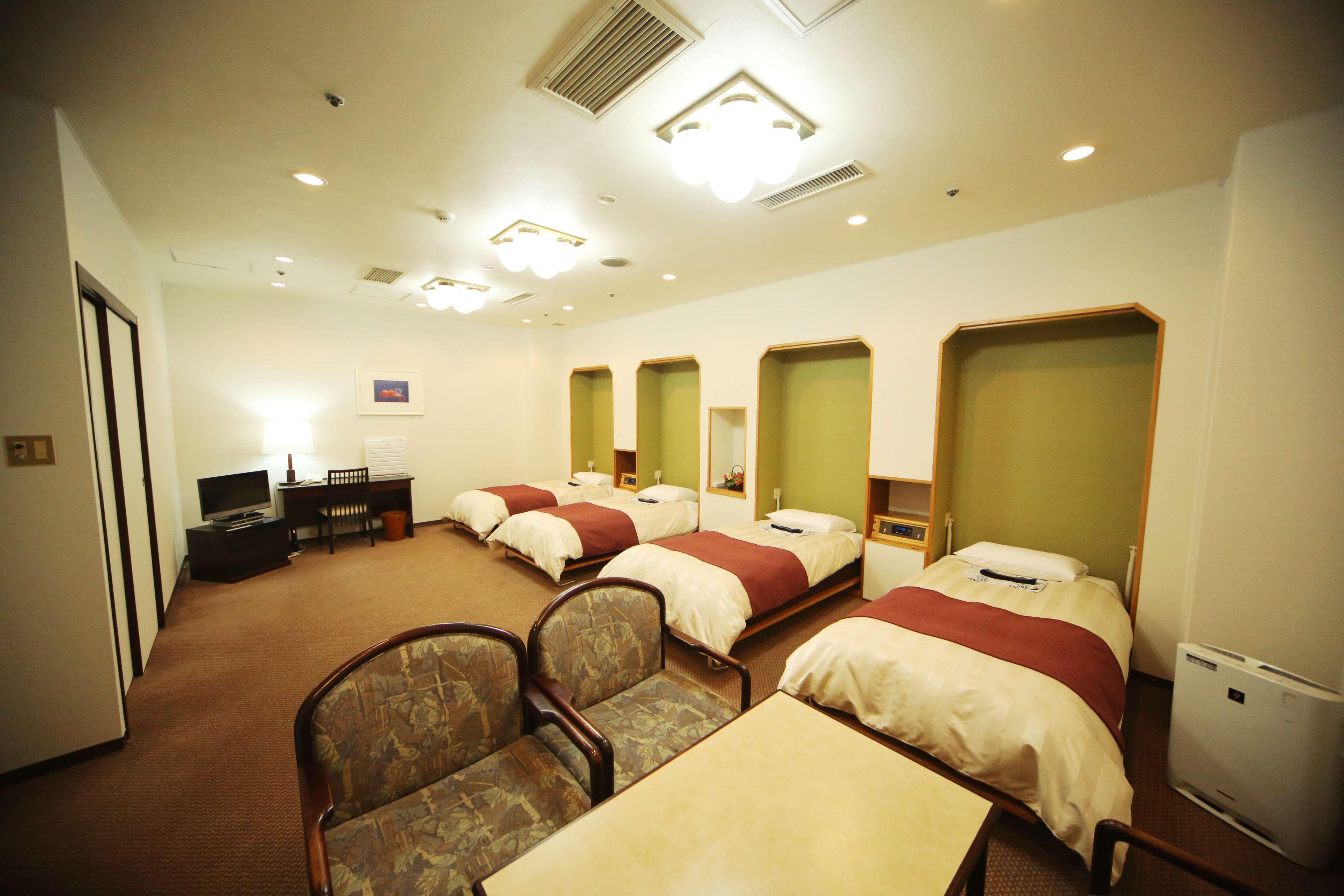 4人部屋】ディズニーランドに便利で、家族4人で宿泊できる格安ホテル