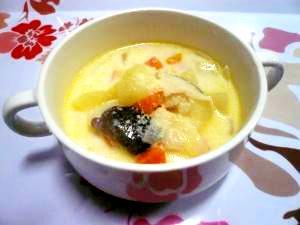 クラムチャウダー風☆ミルクスープ