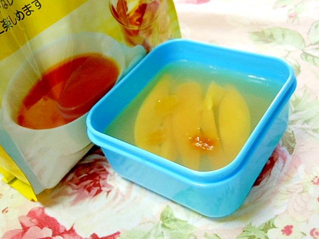 レモンティの素deWマンゴーの蜂蜜寒天