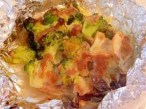 豚バラ肉のホイル焼き