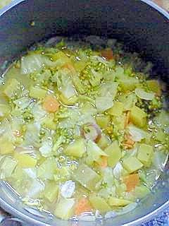 ブロッコリーたっぷりの煮物