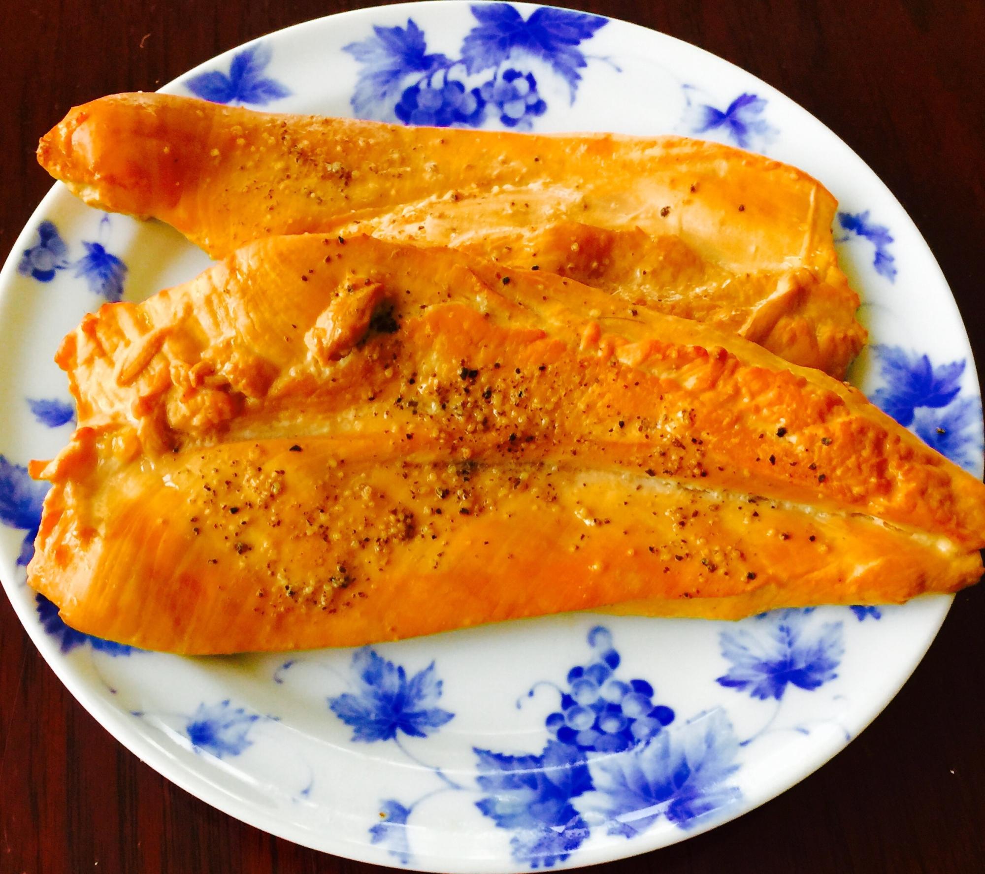 簡単、おいしい#鶏むね肉の燻製