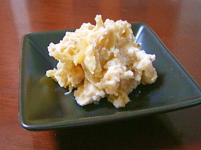 安納芋の白和え