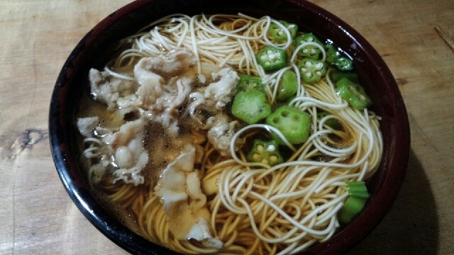 おくらの温麺