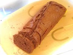 チョコガナッシュ入り!しっとりチョコパウンドケーキ