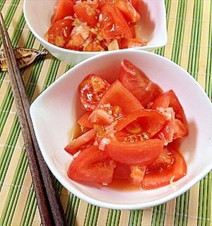 たったこんだけ超簡単!やみつき旨塩おつまみトマト