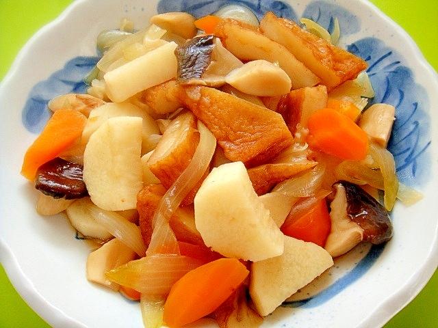 長芋とエリンギさつま揚げの和風煮