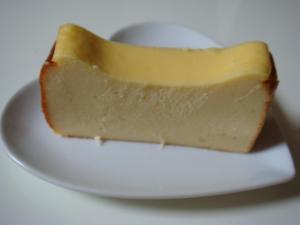 ホームベーカリーでチーズケーキ