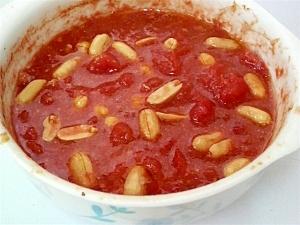 ピーナッツトマトスープ