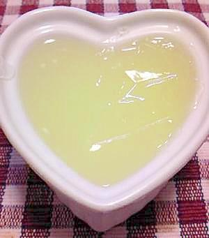 低糖質なゆずゼリー(糖質制限ローカーボ柚子)