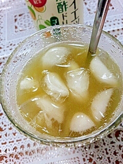 アイス☆ビフィズス菌&黒酢ダブルグリーンティー♪