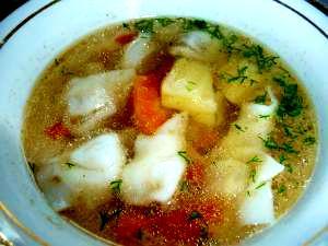 4.じゃがいも餃子スープ