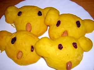 かぼちゃパン生地でコアラを作ろう