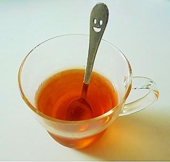 飲むアロマ紅茶