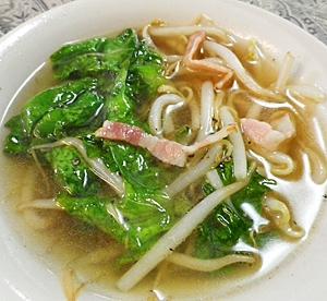 3. レタスの中華スープ