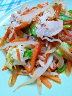 これ一品で、ご飯がたっぷり食べれちゃう肉野菜炒め