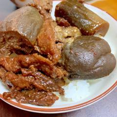 炊飯器で台湾の味!ルーローハン風豚コマナス煮込み