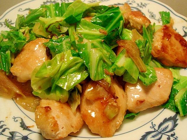 鶏むね肉と春キャベツのポン酢炒め レシピ・作り方 by ねあっっ|楽天レシピ