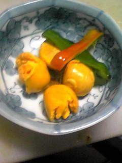 鶏キンカンの塩煮