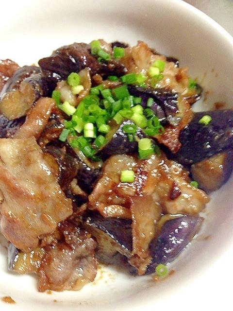 めちゃめちゃゴハンがすすむ!茄子と豚肉の味噌炒め レシピ・作り方 by maria1917 楽天レシピ
